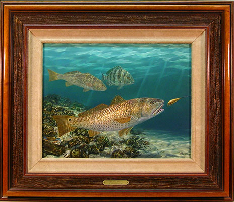 """All That Glitters"" by wildlife artist Randy McGovern!"