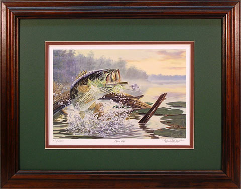 """Buzz Off"" by fish artist Randy McGovern"