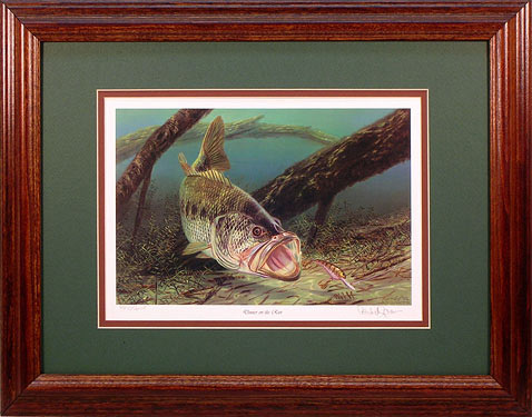 """Dinner on the Run"" by fish artist Randy McGovern"