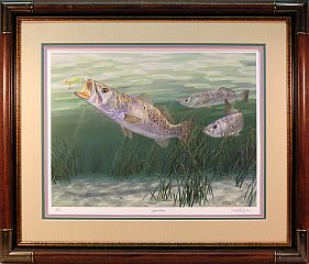 """Fast Lane"" by fish artist Randy McGovern"