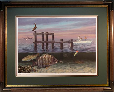 """Herding Sheep"" by fish artist Randy McGovern"