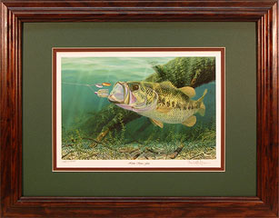 """Home Spun Fun"" by fish artist Randy McGovern"