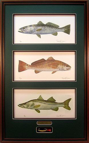"""Texas Slam"" by fish artist Randy McGovern"
