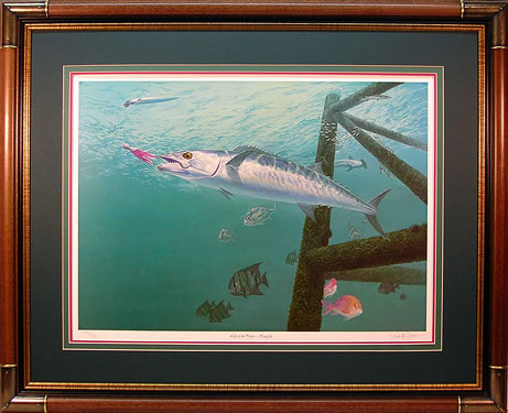 """Life of the Party"" - Kingfish by artist Randy McGovern"