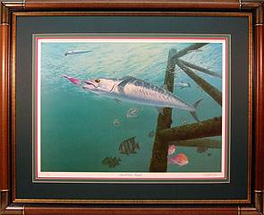 """Life Of The Party"" by fish artist Randy McGovern"