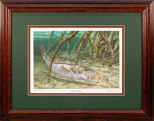 """Mangrove Monster"" by fish artist Randy McGovern"
