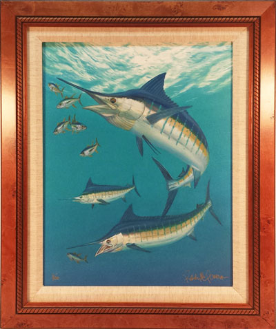 """Marlin and Tuna"" by wildlife artist Randy McGovern!"