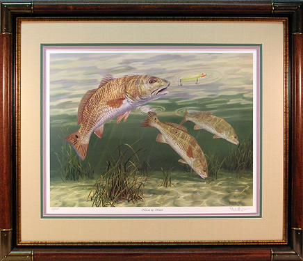 """Not on my Watch"" - Redfish by artist Randy McGovern"