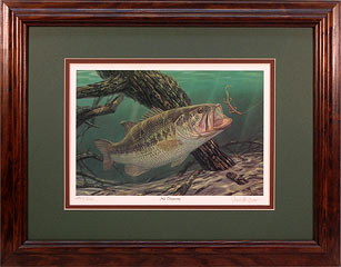 """No Trespassing"" by fish artist Randy McGovern"