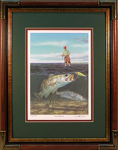 """Open Invitation"" by fish artist Randy McGovern."