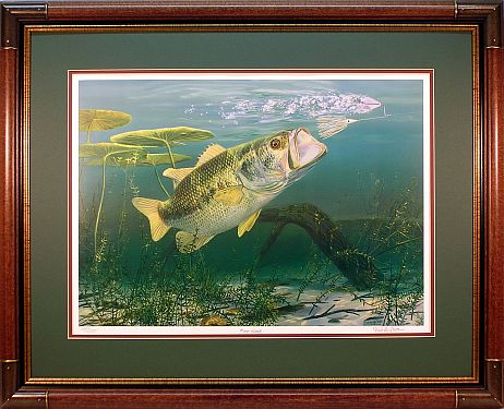 """Power Lunch"" by fish artist Randy McGovern"