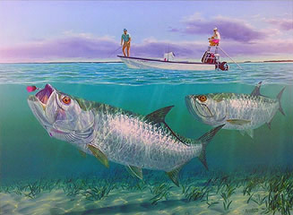 """Quicksilver"" by fish artist Randy McGovern"