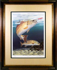 """Red Hot by fish artist Randy McGovern"