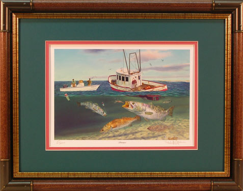 """Shrimpers"" -  by artist Randy McGovern"