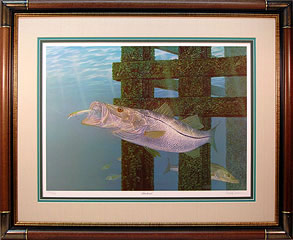 """Snookered"" by fish artist Randy McGovern"