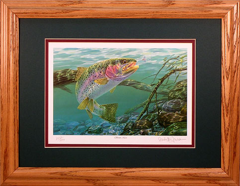 """Swim Meet"" by fish artist Randy McGovern"