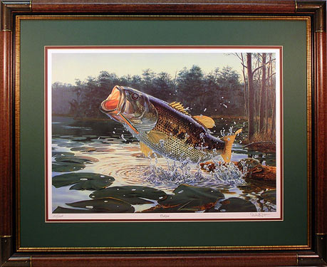 """Tailspin"" by fish artist Randy McGovern"