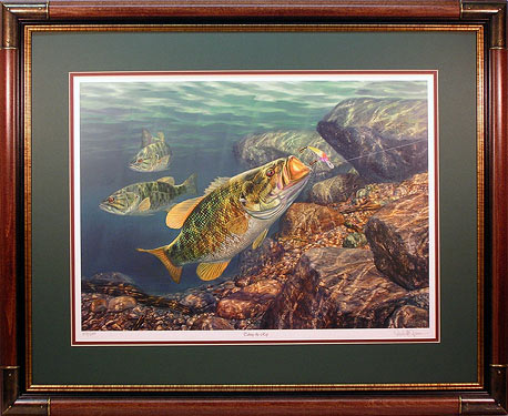 """Taking The Rap"" by fish artist Randy McGovern"