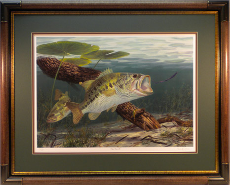 """That Does It"" by fish artist Randy McGovern"