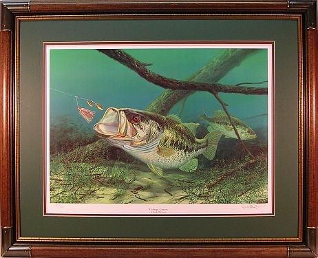 Unhappy Camper By Fish Artist Randy McGovern