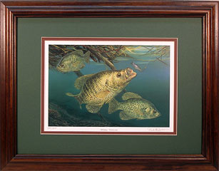 """Working Undercover"" by fish artist Randy McGovern"